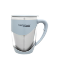 375ml Stainless Steel Inner Double Wall Desk Mug - Grey