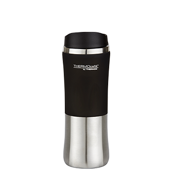 300ml Double Wall Stainless Steel Travel Tumbler Black