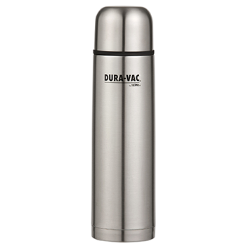 1.0 L Dura-Vac® Stainless Steel Vacuum Insulated Slimline Flask
