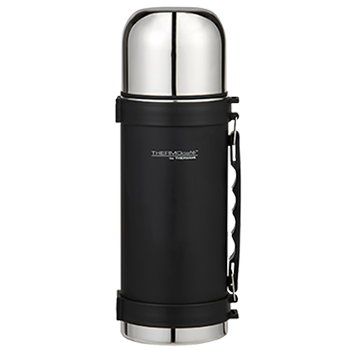 1.0L Everyday Stainless Steel Flask - Matte Black