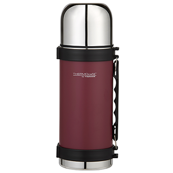 1.0L Everyday Stainless Steel Flask - Matte Red