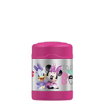 290ml FUNtainer® Vacuum Insulated Food Jar - Minnie Mouse
