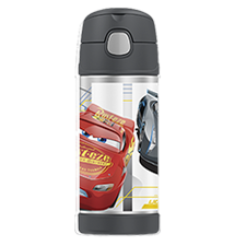 355ml FUNtainer® Vacuum Insulated Drink Bottle - Cars