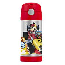 355ml FUNtainer® Vacuum Insulated Drink Bottle - Mickey Mouse