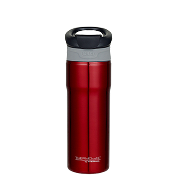 450ml Vacuum Insulated Travel Mug - Red