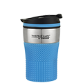 200ml THERMOcafé™ Vacuum Insulated Coffee Cup - Blue