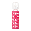 265ml Baby Bottle - Raspberry