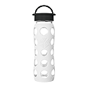 650ml Classic Cap Bottle - Arctic White
