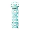 650ml Flip Top Cap Bottle - Turquoise