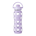 650ml Flip Top Cap Bottle - Lilac