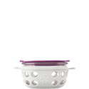 240ml Food Container - Optic White/Huckleberry