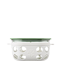950ml Food Container - Optic White/Grass Green