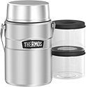 1.39L Stainless King™ Big Boss Food Jar