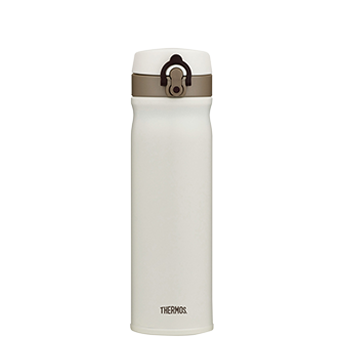 550ml Stainless Steel Vacuum Insulated Direct Drink Flask - Cream