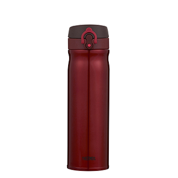 550ml Stainless Steel Vacuum Insulated Direct Drink Flask - Red