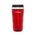 470ml Stainless Steel Inner, Plastic Outer Travel Tumbler - Red