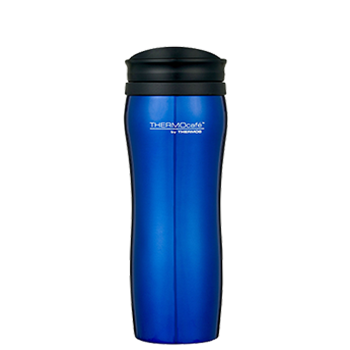 400ml Stainless Steel Travel Tumbler - Blue