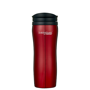 400ml Stainless Steel Travel Tumbler - Red